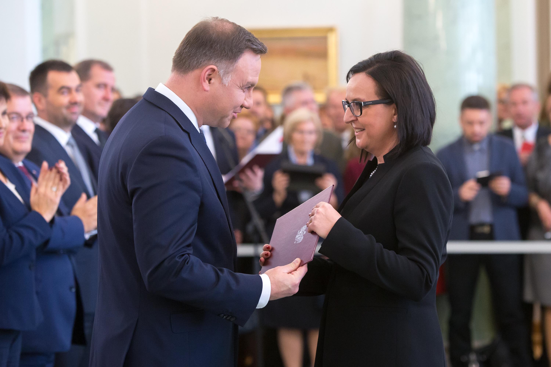 Anna Chrobok with professor nomination