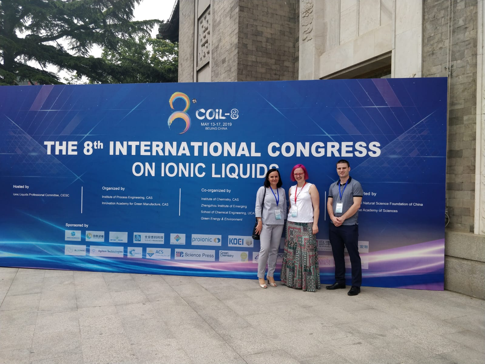 "The 8th International Congress on Ionic Liquids"" (COIL-8)"